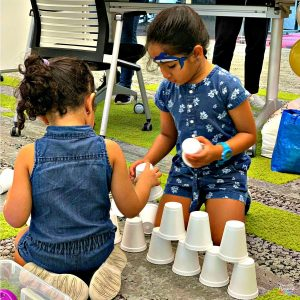 parent child workshop play and learn our little playnest Jacinth Liew gross motor coordination visual motor development