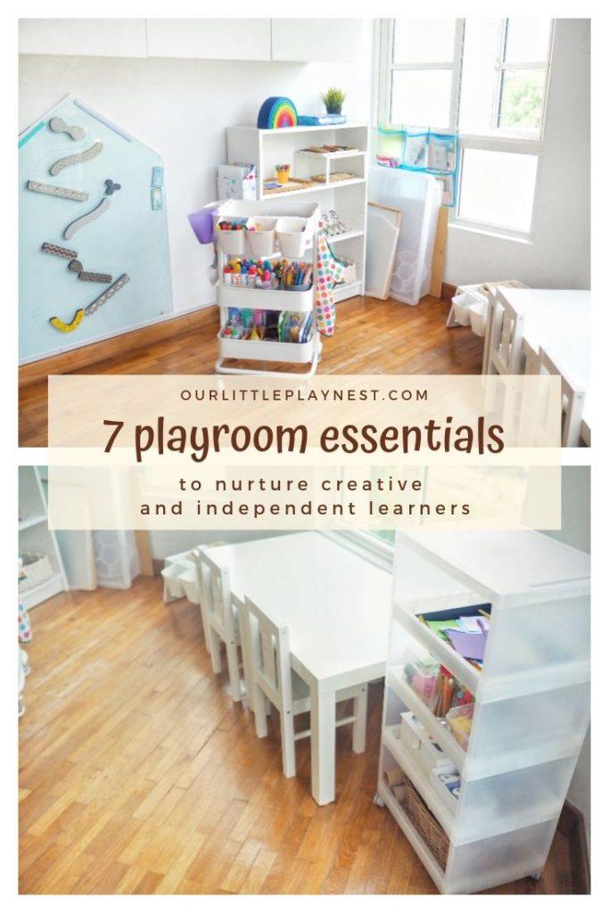 playroom organization children room essentials babies toddlers preschoolers