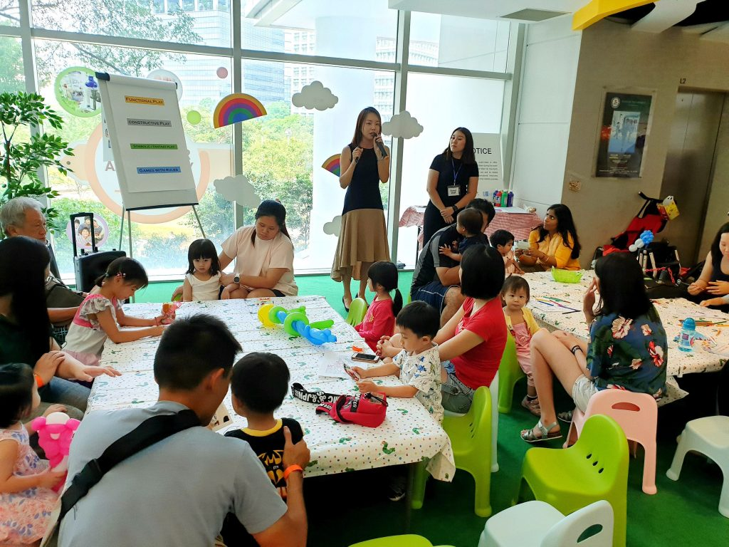 Our Little Playnest Workshop Jacinth Liew play based learning babies toddler preschooler